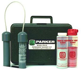 PM-50 Kit A Permanent Magnetic Yoke Set by Parker Research