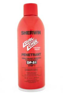 Sherwin DP 51 Water Wash Penetrant
