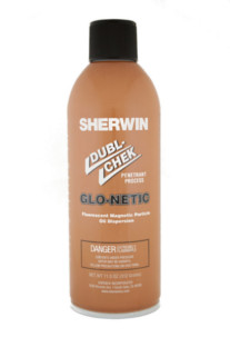 Sherwin Glo-netic Aerosol Mag Particle Solution