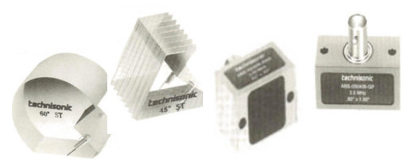 ABS, AWS, Angle Beam (Shear Wave) Transducers Transducers by Technisonic Research